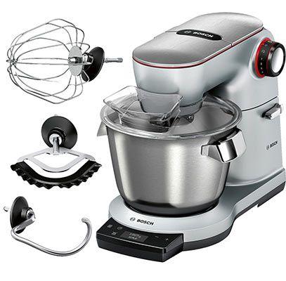Bosch Optimum MUM9AX5S00 Küchenmaschine mit 1500 Watt, integrierter Waage, SensorControl Plus, 5,5L Schüssel für 462€ (statt 501€)