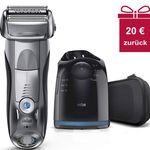 Braun 7790cc Series 7 Rasierer + Reinigungsstation für 119,90€ (statt 130€) + 20€ Cashback