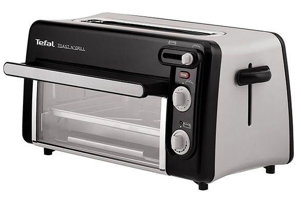 Tefal Toast n Grill TL6008 2in1 Toaster & Mini Ofen (1300 Watt) für 69,21€ (statt 78€)