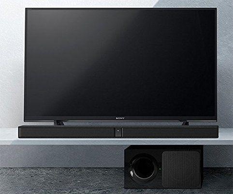 Sony HT CT290 2.1 Kanal Soundbar (300W, Bluetooth, HDMI, kabelloser Subwoofer) für 159€ (statt 190€)