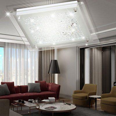 WOFI LED Deckenleuchte mit 15 Watt und (warmweiß) für 19,90€ (statt 29€)