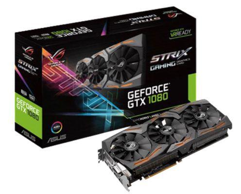 ASUS GeForce GTX 1080 ROG Strix 8GB NVIDIA Grafikkarte + Destiny 2 (PC) für eff. 520€