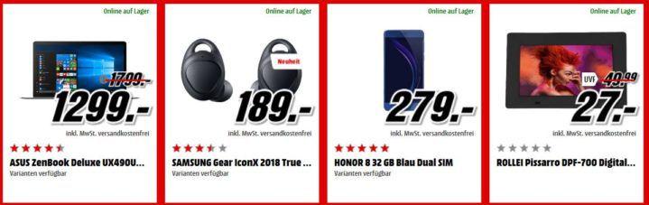 Media Markt Adventskalender Tag 11: z.B. Yamaha RX V481 Receiver statt 350€ für nur 299€