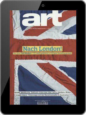 1 Jahr art Magazin als E Paper für 78€ + 80€ BestChoice Gutschein