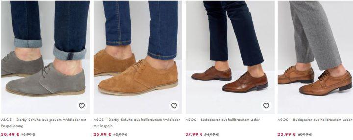 ASOS Schuh & Sneaker Sale mit bis zu 50% Rabatt!