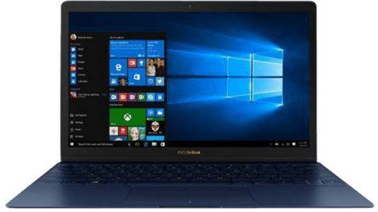 ASUS UX390UA GS039T Ultrabook 12.5 Zoll für 779€ (statt 1009€)