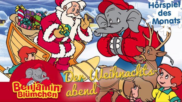Benjamin Blümchen: Der Weihnachtsabend (Hörspiel) kostenlos