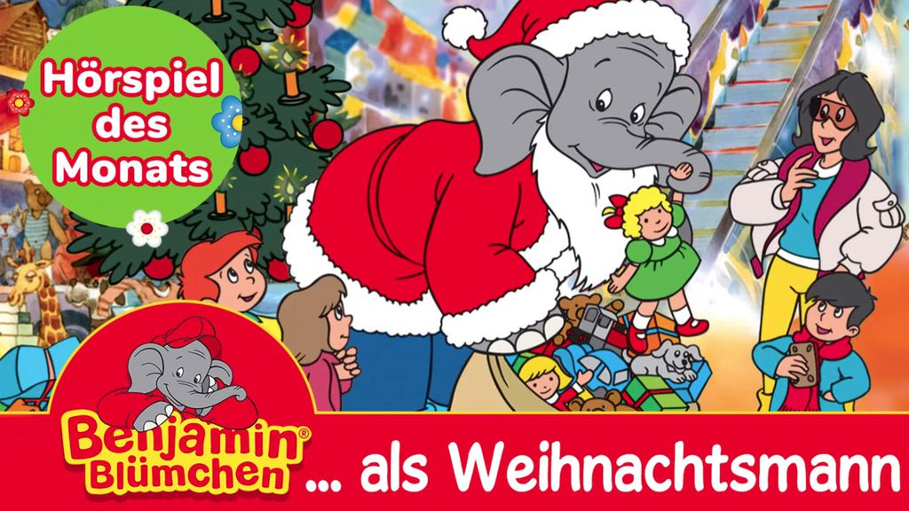 Benjamin Blümchen als Weihnachtsmann (Hörspiel) kostenlos