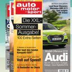 6 Ausgaben auto motor und sport für 17,60€ + gratis Smartwatch