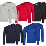 2er Pack U.S. POLO ASSN. Rundhals Sweater für 49,99€