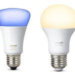 Günstige Philips HUE Leuchten bei Amazon UK – z.B. 6er Pack E27 Weiß für 50€ (statt 96€)