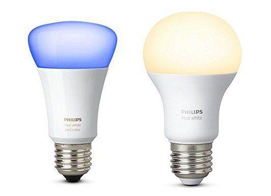 Günstige Philips HUE Leuchten bei Amazon UK   z.B. 6er Pack E27 Weiß für 50€ (statt 96€)