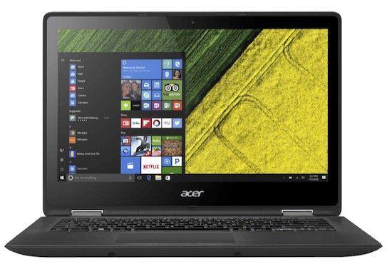 Acer Spin 5 (SP513 51)   13,3 Zoll Full HD Notebook mit 128GB + Win 10 für 444€ (statt 598€)