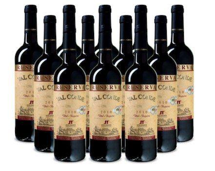 12 Flaschen Val Conde   Utiel Requena DO Reserva für 45€   goldprämiert!