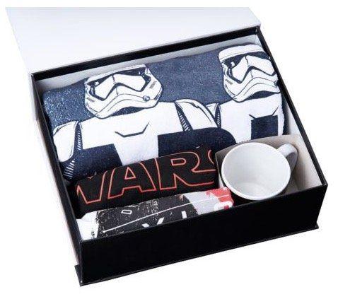 Star Wars 8 Geschenkbox mit T Shirt, Tasse, Handtuch etc. für 49,95€