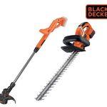 Black & Decker Grastrimmer ST1823-QW + Heckenschere GTC1845L-QW für 108,90€ (statt 163€)