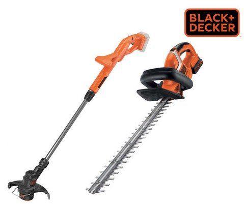 Black & Decker Grastrimmer ST1823 QW + Heckenschere GTC1845L QW für 108,90€ (statt 154€)