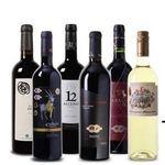 6 Flaschen teils prämierter Wein aus Spanien + 4 Weingläser für 45,44€