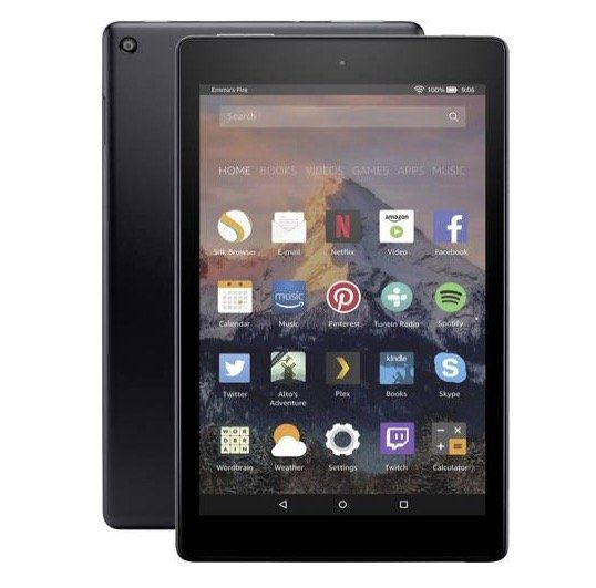 Amazon Fire HD8 16GB Android Tablet für 54,44€ (statt 60€)