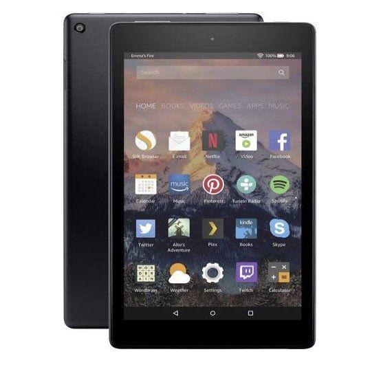 Amazon Fire HD8 Android Tablet mit 32GB für 80,93€ (statt 105€)