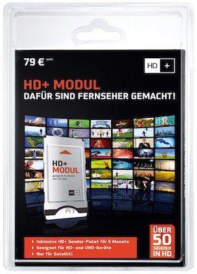 HD+ Modul inkl. HD+ Sender Paket (6 Monate) für 41,76€ (statt 65€)