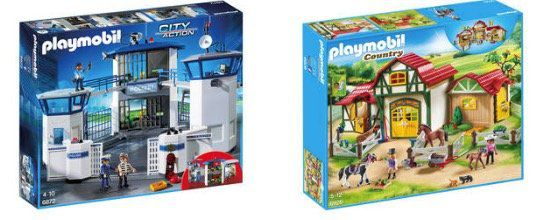 20% auf Playmobil bei Galeria Kaufhof   z.B. Große Feuerwache ab 46,39€ (statt 55€)