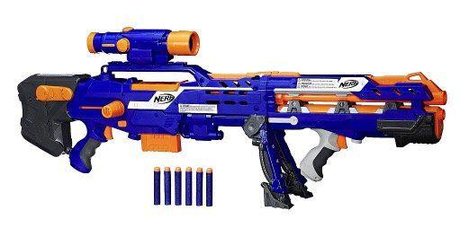 20% auf NERF Blaster bei ToysRUs   z.B. NERF N Strike Elite Longshot CS 6 für 42,93€ (statt 68€)