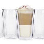 6er Set doppelwandige Latte Macchiato Gläser für 19,99€ (statt 25€)