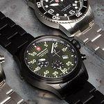 """Swiss Military Herren Uhren im Tagesangebot bei vente-privee – z.B. Modell """"Marlin"""" in Schwarz für 226,90€ (statt 344€)"""