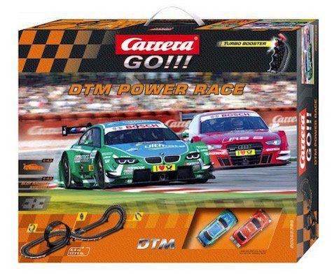 Carrera Go!!! DTM Power Race Rennbahn mit BMW M3 und Audi A5 für 49,99€ (statt 60€)