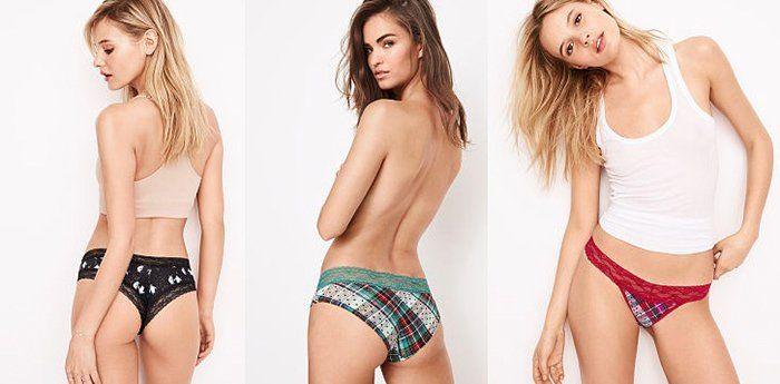 5er Pack Victorias Secret Höschen für 42,21€ (statt 67€)