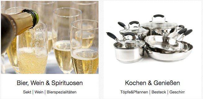 eBay mit 10% Silvester Gutschein auf die Kategorien Feinschmecker, Kochen & Genießen und Feste & besondere Anlässe