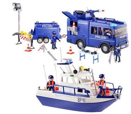 Playmobil City Action   Bundespolizei Großeinsatz (9400) für 59,99€ (statt 79€)
