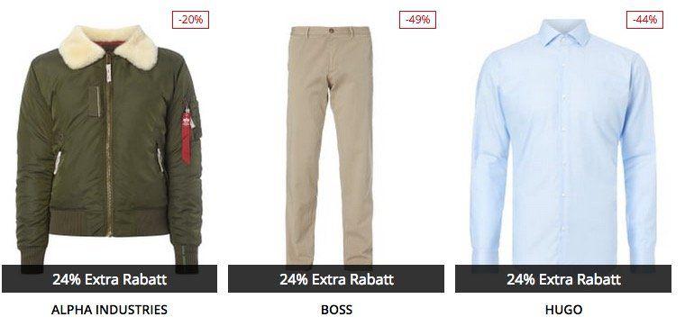 Peek & Cloppenburg* mit 24% Extra Rabatt auf viele bereits reduzierte Artikel   TOP!