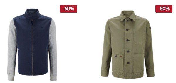 Mustang mit 25% Rabatt auf Jeans, Hosen, Jacken und Mäntel
