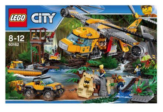 Lego City Dschungel Versorgungshubschrauber (60162) für 95,69€ (statt 124€)