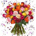 """44 Rosen """"HappyNewYear"""" für 23,98€"""