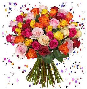 44 Rosen HappyNewYear für 23,98€