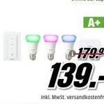 Media Markt Adventskalender-Finale – z.B. Philips Hue White and Color Ambiance Starter Kit für 139€ (statt 165€)