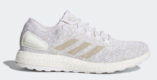 adidas Pure Boost Laufschuh in Grau für 69,98€ (statt 98€)