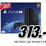 Media Markt Filialen: Frühshoppen bis 11 Uhr – z.B. Playstation 4 Pro für 313€ (statt 349€)