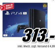 Media Markt Filialen: Donnerstag Frühshoppen bis 11 Uhr   z.B. Playstation 4 Pro für 313€ (statt 349€)