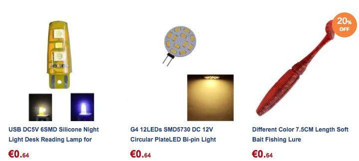 China Gadgets für unter einen Euro   z.B. 6er Pack Angel Twister für 0,59€