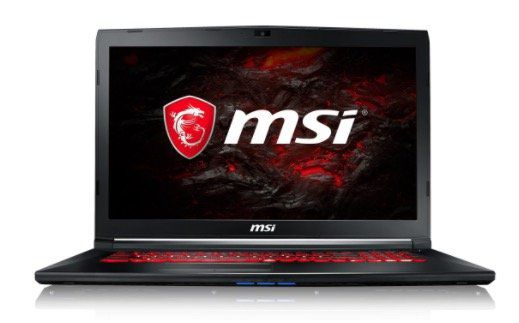 MSI GL72M 7REX 1041DE   Notebook mit i7, 8GB RAM, 256GB SSD und GTX1050Ti für 999€ (statt 1.304€) + gratis MSI Lootbox Pack 2018