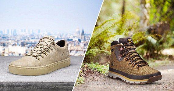 Timberland Schuhe und Wanderschuhe ab 49,90€ bei vente privee