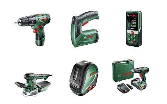 Verschiedenes Bosch Werkzeug und Geräte zu Bestpreisen   z.B. Bosch Akku Laubbläser für 87,85€ (statt 103€)