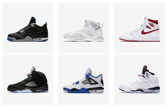 Vorbei! Bis zu 50% Rabatt auf Nike Air Jordan Retro Modelle + VSK frei