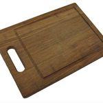 Vorbei! XL Schneidebrett aus Bambus-Holz für 4,99€ (statt 14€)