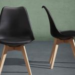 """3er Pack Retro-Stuhl """"Rocky"""" für 34,70€"""