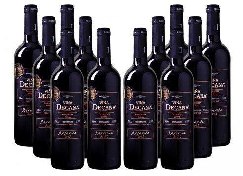 12 Flaschen Viña Decana Reserva Utiel Requena DO für 45€